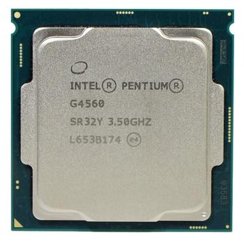 Original CPU for Intel Pentium Dual-Core G4560 3.5GHz 3M Cache LGA 1151 CPU Processor Desktop CPU intel core i5 4430s i5 4430s processor 6m cache 2 7ghz lga1150 desktop cpu