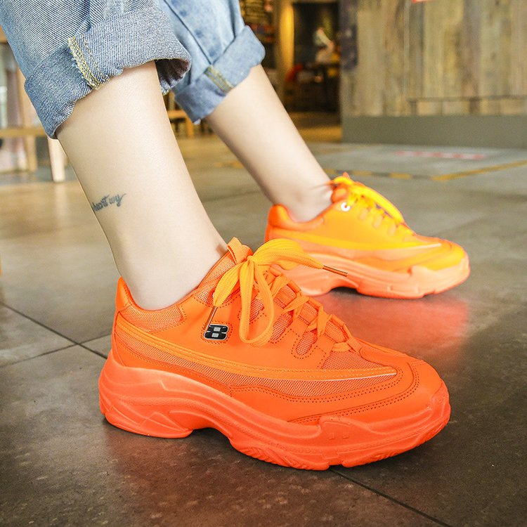 Candy-Colored Fashion Chunky Sneakers 10