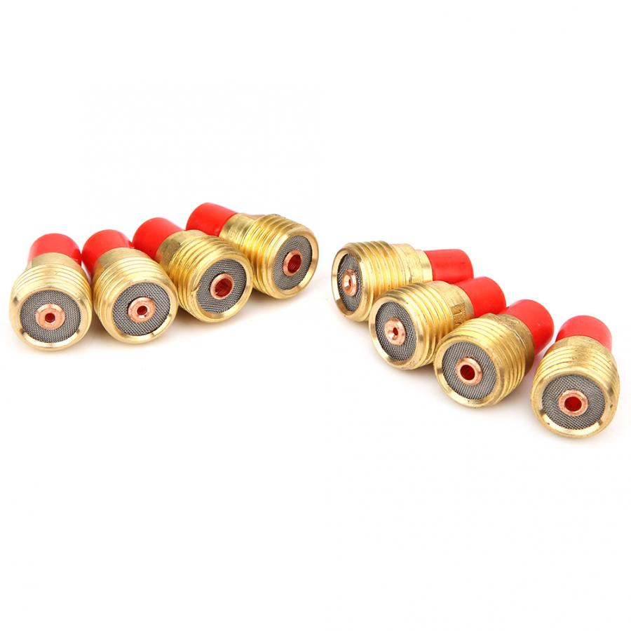 "58 Pcs TIG Welding Torch Welding Torch Kit 040/""~1//8/"" Gas Lens For WP-9//20//25"