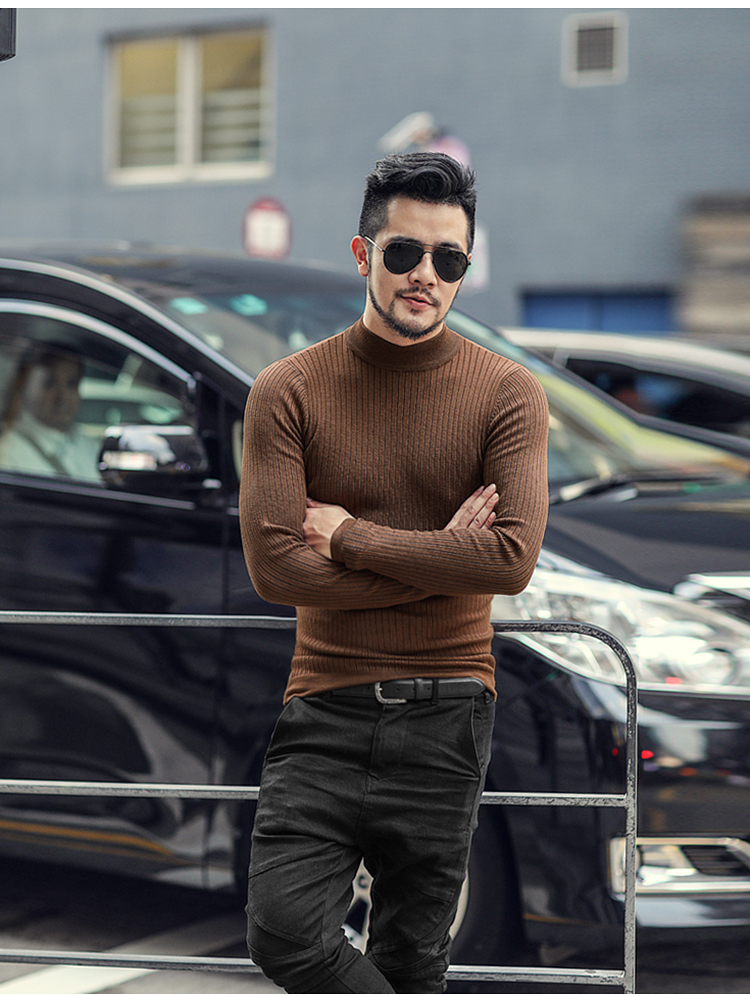 Elasticed Male New Sweater 15