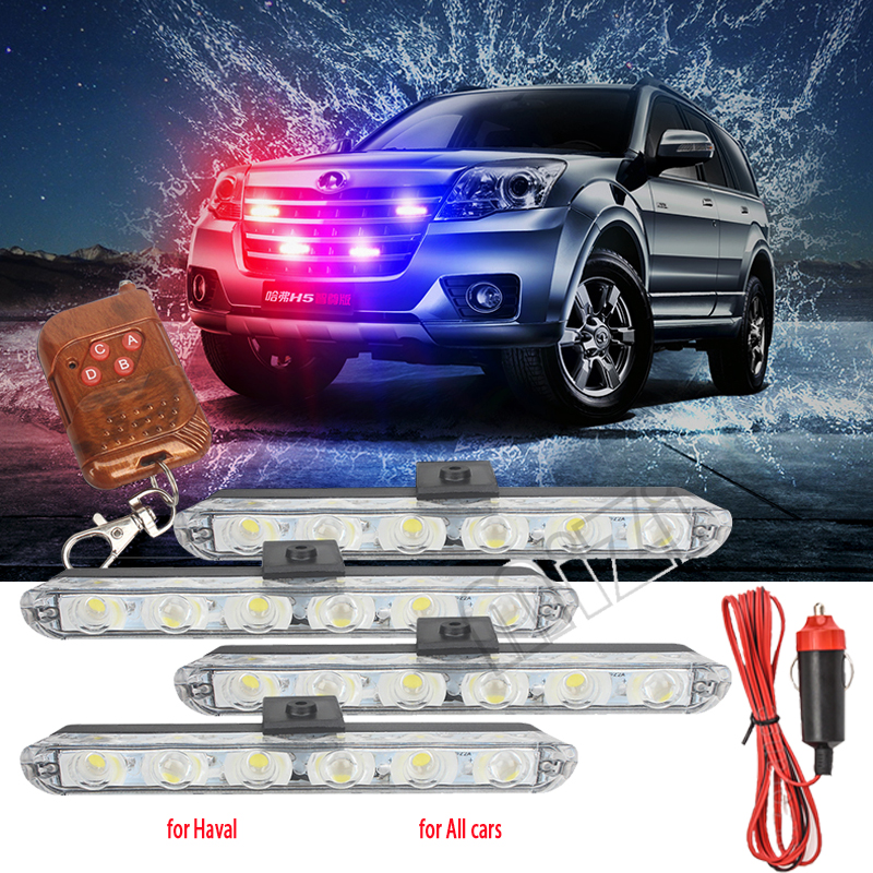 Police Lights LED Flasher Strobe Lights Fso Auto Flash Fso Flash Police Flasher Stroboscopes Police Light Strobe Light Warning