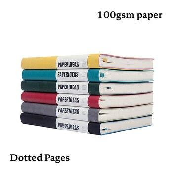 """Блокнот в точку """" Bullet Journal """", твердая обложка, A5, 192 стр . 100г , ежедневник , тетрадь , канцелярия"""