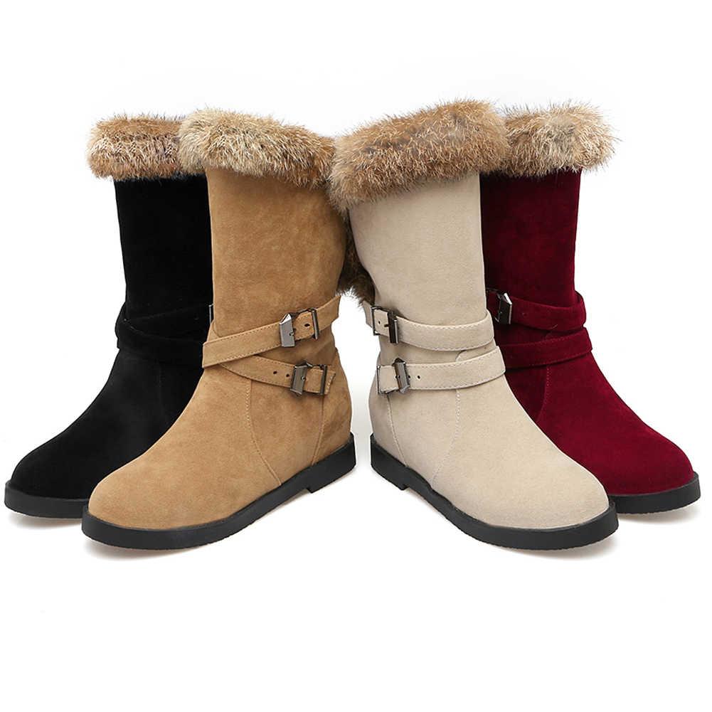 DORATASIA 34-43 New Elegant Office Lady ความสูงเพิ่มขึ้นรองเท้าสบายๆรองเท้าแฟชั่นผู้หญิงเข็มขัดหัวเข็มขัดรองเท้าผู้หญิง