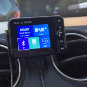 Image 2 - Mini DAB récepteur de Radio numérique Bluetooth MP3 lecteur de musique adaptateur émetteur FM écran LCD coloré pour accessoires de voiture