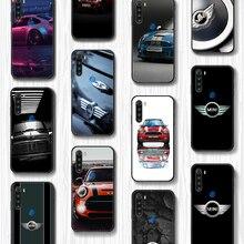 Мини чехол для телефона с логотипом автомобиля, Корпус Корпуса для XIAOMI Redmi 7a 8a S2 K20 NOTE 5 5a 6 7 8 8t 9 9s pro max, Черный Роскошный чехол для мобильного те...