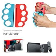 1 par para Nintendo alegría Con controlador suave de dedos empuñaduras para Fitness boxeo conmutador de juego Accesorios