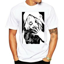 Tokyo Ghoul - Custom T-shirt Tee Novelty T Shirts Men'S Brand Clothing Summer Short Sleeve Cotton Tshirt Harajuku(China)