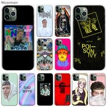 Чехлы для телефонов yung lean Rapper для Apple iPhone 11 Pro Max X XR XS MAX 7 8 6 6s Plus 5 5S жесткий чехол
