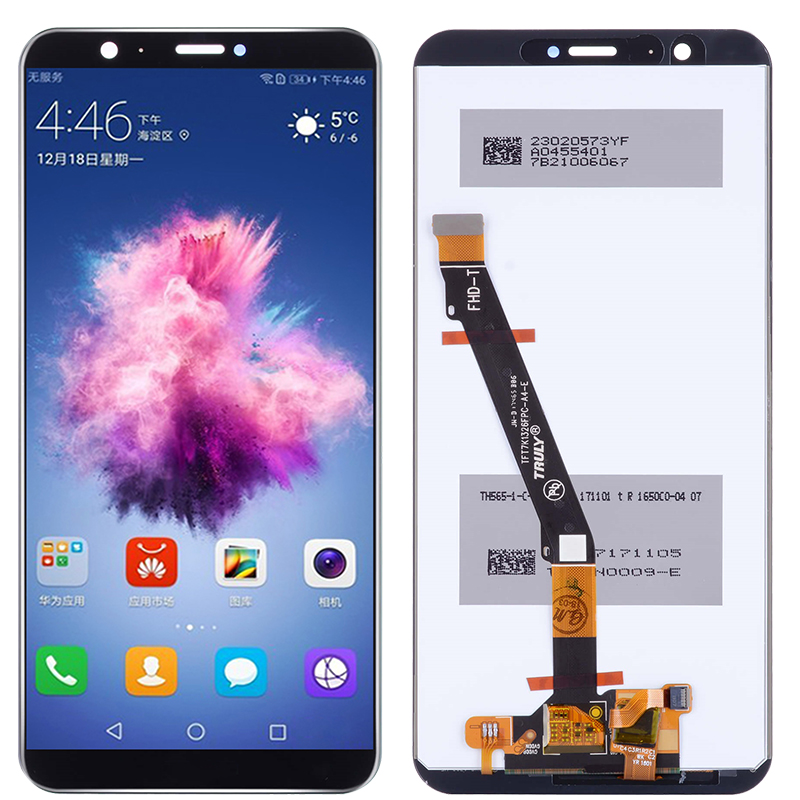 Original P Smart LCD For Huawei P Smart LCD With Frame 5.65 Inch Screen For Huawei Enjoy 7S FIG LX1 LX3 LCD Display Assembly
