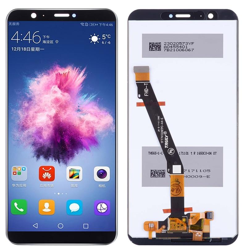 Оригинальный умный ЖК-дисплей P для Huawei P Smart, ЖК-дисплей с рамкой, экран 5,65 дюйма для Huawei Enjoy 7S FIG LX1 LX3, ЖК-дисплей в сборе
