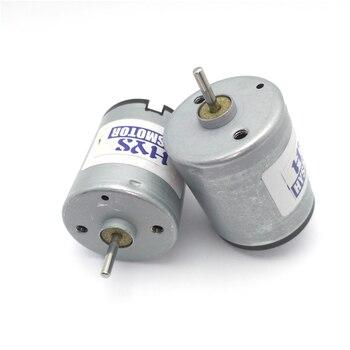 2 sztuk szybki silnik 12 V 6 V 3000rpm 6200rpm Mini elektryczny DC 6 V 12 V silniki Micro małe DIY eksperymenty naukowe Model