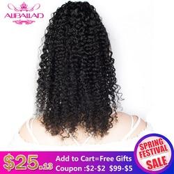 Aliballad perwersyjne kręcone sznurkiem kucyk ludzki włos brazylijski Afro dopinki na klips dla czarnych kobiet nie Remy 2 grzebienie