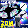 Светодиодные ленты светильник 20M RGB 3528 WI-FI Водонепроницаемый Гибкая лампа лента WithDiode лента 5 м 10 м 15 м музыкальной синхронизации Цвет