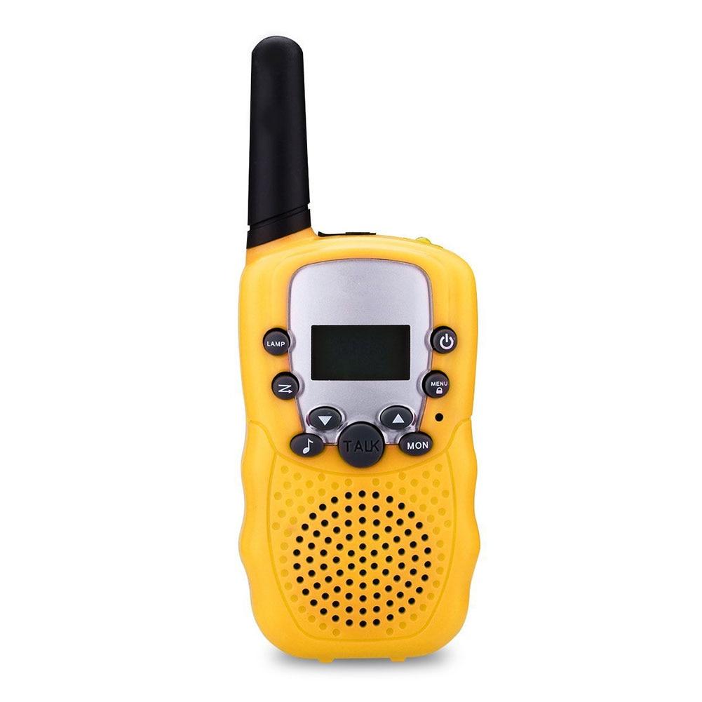 2 Pcs/Set Children Toys 22 Channel Walkie Talkies Two Way Radio UHF Long Range Handheld Transceiver Kids Gift Hot Sales