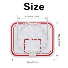 Мини пластиковый комнатный баскетбольный обруч над дверью настенный Детский спорт с мячом