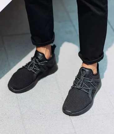 Originalxiaomi youpin 90-peça Siameses calça as sapatilhas, dos homens e das mulheres calçados esportivos cercado por TPU e couro de alta qualidade Inteligente