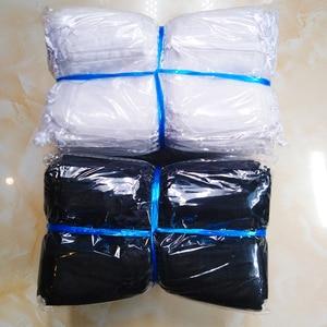 Image 2 - 1000 stks/partij 24 Kleuren Sieraden Bag 7x9 9X12 10x15 13x18cm Bruiloft gift Organza Tassen Sieraden Verpakking & Display Sieraden Pouches