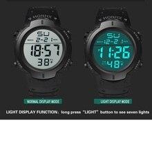 LED 디지털 빛나는 스포츠 시계 hodinky 새로운 패션 남성 여성 군사 시계 선물 ceasuri 시계 드롭 배송 Orologio Uomo