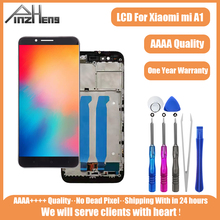 PINZHENG Original LCD For Xiaomi Mi A1 LCD Touch Screen Display Digitizer Assembly Replacement LCDS For Xiaomi A1 With Frame aaaa original lcd for xiaomi a1 screen display digitizer assembly replacement lcd for xiaomi a1 screen with frame