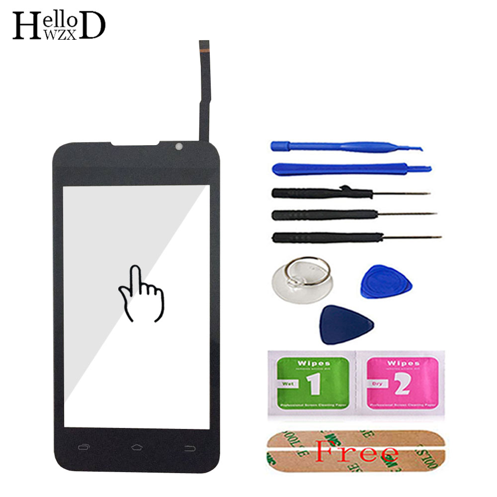 Touch Screen Glass For Ark Benefit M1 Touch Screen Glass Digitizer Panel Front Glass Sensor 4.0'' Mobile Phone Tools Adhesive