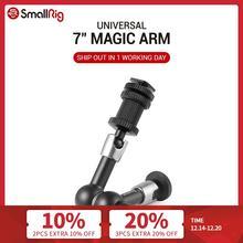 """Smallrig Instelbare Wrijving Scharnierende Magic Arm 7 """"Lange Met Koud Schoen Mount & Standaard 1/4"""" 20 Schroefdraad schroef Adapter  1497"""