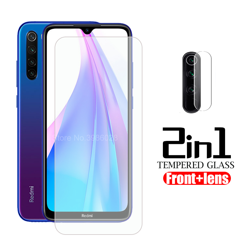 2 in 1 protective <font><b>Glass</b></font> for xiaomi redmi note 8T tempered <font><b>Glass</b></font> on redmi note 8T note8 t t8 xiomi <font><b>camera</b></font> lens film safety glas image