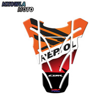 цена на Motorcycle For Honda Fish Bone Fuel Tank Pad Tank Cap Cover Motorbike 3D Resin Protector Decal Sticker CBR600 CBR1000 CBR 600