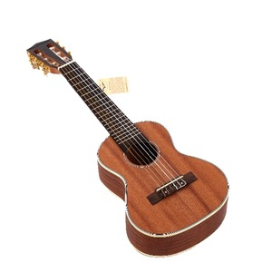 Image 2 - 30 inch Mini Electrica Guitar Musical Instruments Full Sapele Retro Closed Knob Ukulele 4 strings Bass Guitar Guitarra UB 113