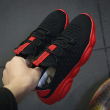 Mlcriyg 2019 New Breathable Leather Sneakers Mens Running Shoes Lightweight Outdoor Walking Sport Soft Sole Men Krasovki