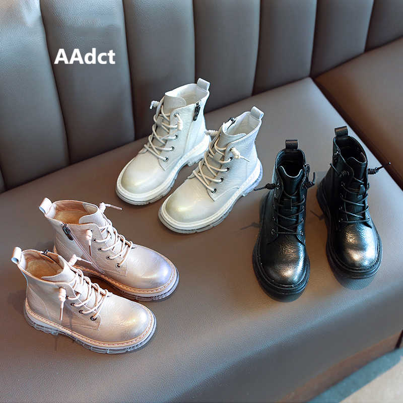 Aadct 2020 Meisjes Laarzen Mode Kinderen Laarzen Voor Baby Meisjes Herfst Winter Katoen Warm Merk Little Kinderen Martin Schoenen Zomer