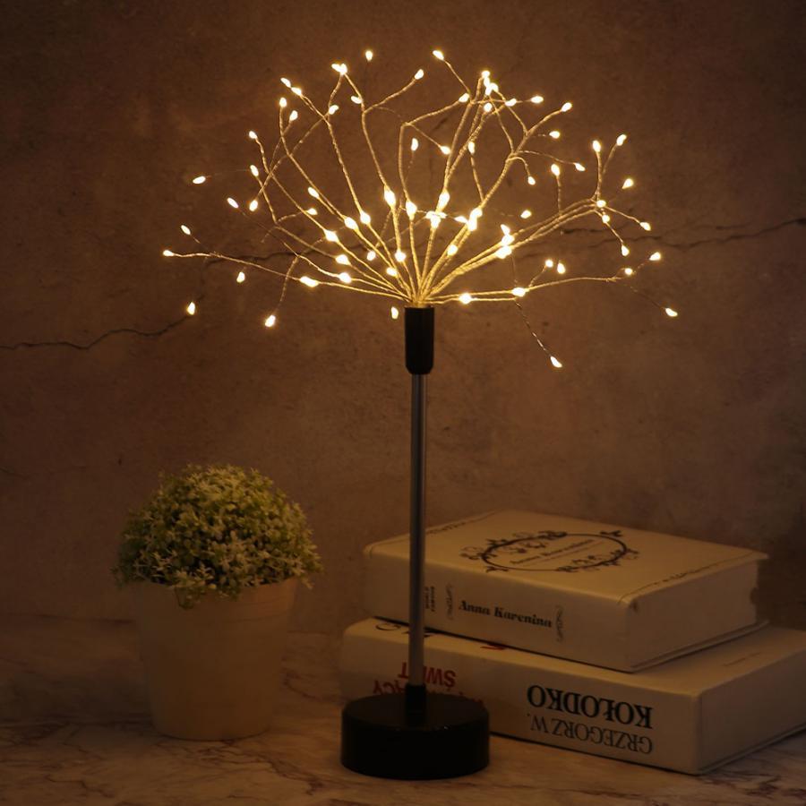 Красочные для помещений, LED лампа свет шнура, стилизованные под языки пламени Форма украшение с дистанционным Управление ночной Светильник