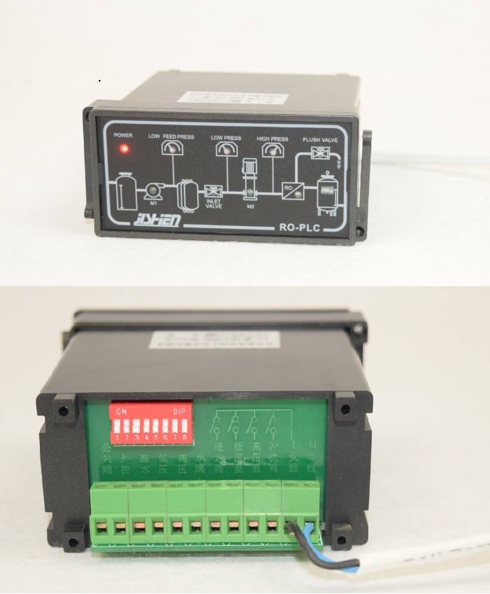 Reverse Osmosis Controller ROS-2015 PLC Control Replace RO-PLC ROC-2018 Double Row Terminal
