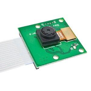 Image 3 - Placa do módulo da câmera rev 1.3 5mp webcam vídeo 1080p 720p rápido para raspberry pi 3 ov5647 china versão