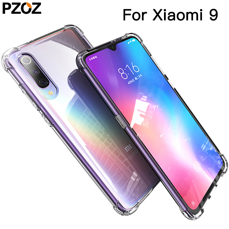 PZOZ <font><b>for</b></font> <font><b>xiaomi</b></font> <font><b>mi</b></font> <font><b>9</b></font> <font><b>se</b></font> <font><b>mi</b></font> 8 lite <font><b>MI</b></font> A3 <font><b>case</b></font> cover <font><b>silicone</b></font> luxury tpu <font><b>soft</b></font> <font><b>xiaomi</b></font> note10 pro <font><b>mi</b></font> cc9 Transparent <font><b>shockproof</b></font> <font><b>case</b></font> image