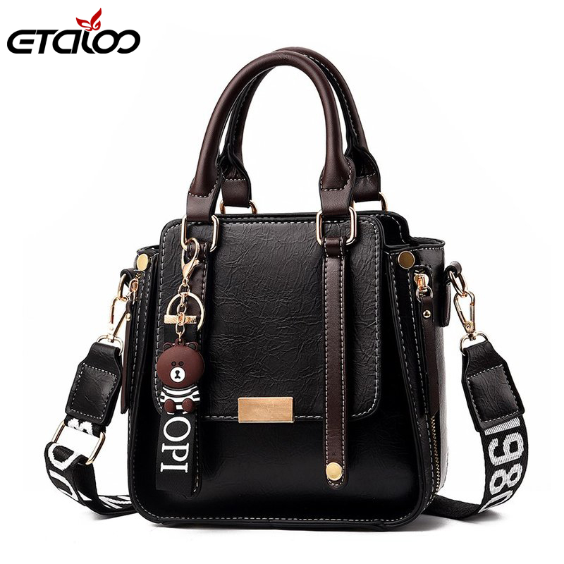 Luxury PU Leather Bag Brand Design Leather Women Bags Trendy New Shoulder Bag Fashion Messenger Bags