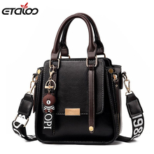 Luxury PU Leather Bag Brand Design Leather Women Bags Trendy New Shoulder Bag Fashion Messenger Bags red wedding pu leather fashion new african shoes and bag set for party italian shoes with matching bag new design ladies bag