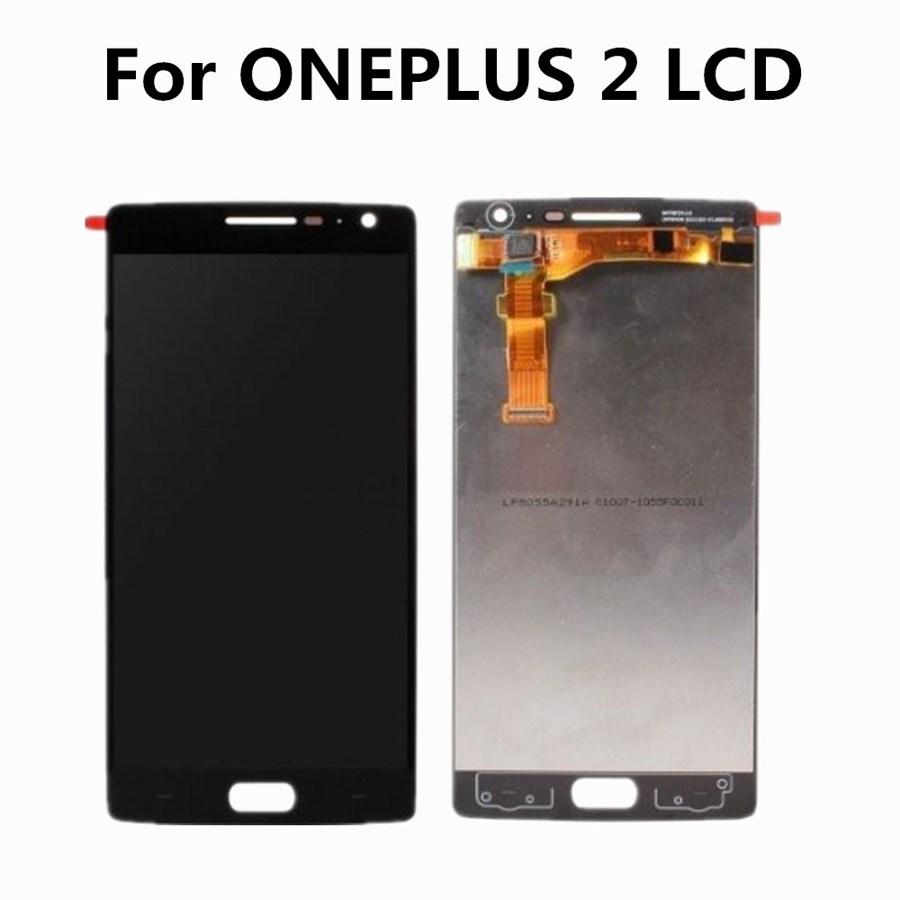 5.5'' Display For <font><b>Oneplus</b></font> <font><b>2</b></font> LCD Touch <font><b>Screen</b></font> with Frame for One Plus <font><b>2</b></font> Display <font><b>Replacement</b></font> 1+ Two A2001 A2003 A2005 image
