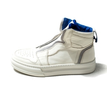 2020 New Fashion Mens High Top Trainers Genuine Leather Shoes