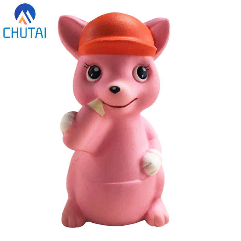 Cute Squirrel Baby Squishy Slow Rising Squeeze Toys Soft Stretchy Scented Stress Relief Toy Xmas Decor Gifts 14*7CM