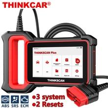 THINKCAR Thinkscan Plus S2 OBD2 Scanner ABS SRS ECM System Öl DPF TPMS Reset Code Reader ODB OBD 2 Auto professionelle diagnose