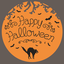 Words Happy Halloween Metal Cutting Dies Craft Stencils DIY Scrapbooking Die Cuts Embossing for Photo Album Cards