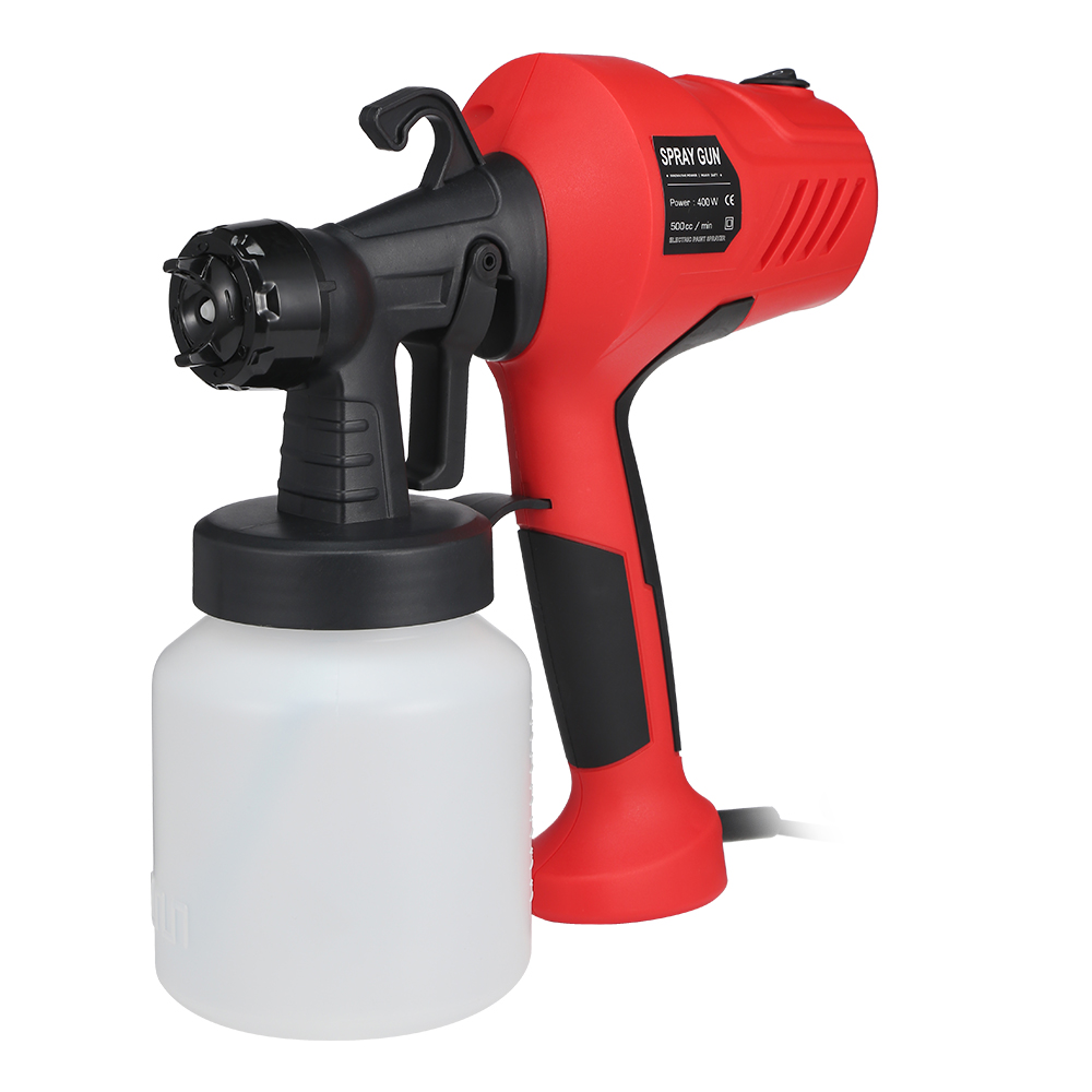 400W Adjustable High Voltage Electric Paint Sprayer Used As Wall Painting And Home Furniture And Other 1