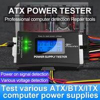 PC Computer ATX Netzteil dc digital voltmeter elektrische voltimetro 12v volt meter usb spannung tester detector de voltaje werkzeug