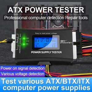 Блок питания ATX для ПК, цифровой вольтметр постоянного тока, электрический измеритель напряжения 12 В, usb тестер напряжения, детектор, инструм...