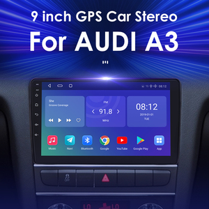 Image 2 - IPS DSP 4GB 2din Android 10 Auto Radio DVD Player Für Audi A3 8P S3 2003 2012 RS3 Sportback Multimedia Navigation stereo steuergerät