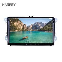 Harfey Android 8.1 2Din Car Radio GPS Auto Multimedia Player for VW/Volkswagen/Golf/Polo/Tiguan/Passat/b7/b6/leon/Skoda/Octavia