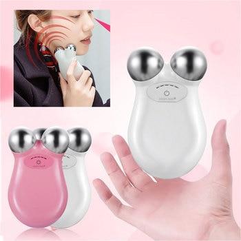 Face Massager Facial Massager For Face Lifting Microcurrent Roller Massager Facial Microcurrent Device Massage Face Lift Machine