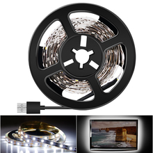 LED Strip 5V 2835 SMD US/EU Plug 1M 2M 3M 4M 5M USB Light Lamp 220V Decor Tape For TV Background Lighting Bedroom