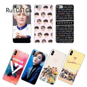 RuiCaiCa KPop Seventeen JEONGHAN 17 чехол для телефона fundas для iPhone 12 8 7 6 6S Plus X XS MAX 5 5S SE XR 12 11 pro promax coque image