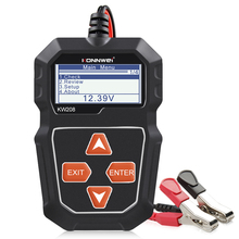 KONNWEI KW208 Car Battery Tester 12V 100 to 2000CCA Battery Tools for the Car Quick Cranking Charging Diagnostic Charger Analyze
